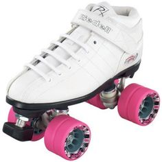 My skates :D Riedell R3 Roller Derby Speed Skates White