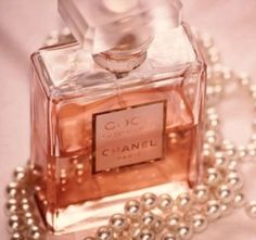 Coco Perfume & Pink Pearls