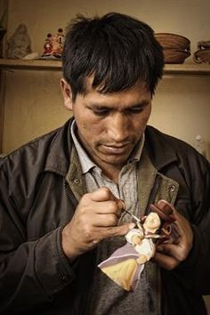 Acabo de compartir la foto de Milton Cesar Rodriguez Triviños que representa a: Artesano de Quinua