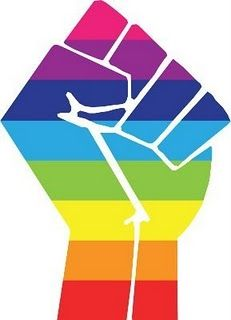 #queer #gay #rainbow #solidarity