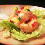 Okayama|岡山 おかやま|Restaurant|お好み焼き だぼ|エビのマヨネーズソース