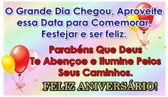 Mensagem Feliz Aniversario