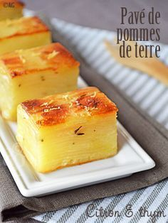 not the galette de pomme de terre recipe I know, can see the layers - nice height and browning on top though Great Recipes, Favorite Recipes, Vegetarian Recipes, Cooking Recipes, Cuisine Diverse, Yummy Food, Tasty, Potato Recipes, Cooking Time