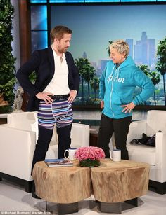 This show is pants: Heartthrob Ryan revelled in ramping up the excitement by showing off his underwear