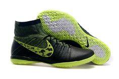 new concept 59be1 5f078 Billig Nike Elastico Superfly IC Grå Svart Gul Fotballsko