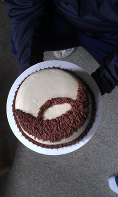 Beard Cake Birthday Cake For Husband, Birthday Cakes For Men, Cake Design For Men, Cupcakes For Men, Bithday Cake, Fathers Day Cake, Diy Cake, Creative Cakes, Cake Creations