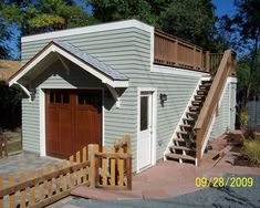 Garage And Shed Rooftop Deck Design, Pictures, Remodel, Decor and Ideas
