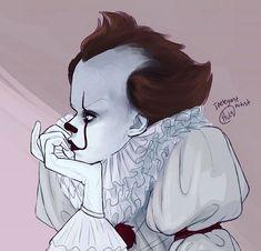 Garbage boy stinkman belongs in the toilet (Posts tagged pennywise) Arte Horror, Horror Art, Bill Skarsgard Pennywise, Pennywise The Dancing Clown, Scary Art, Fan Art, Horror Films, Drawings, Clowns