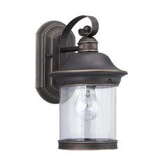 Seagull Lighting - One Light Outdoor Wall Lantern