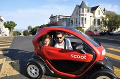Scoot Unleashes New Four-Wheeler Quad Cars On San Francisco Streets http    9719c93623