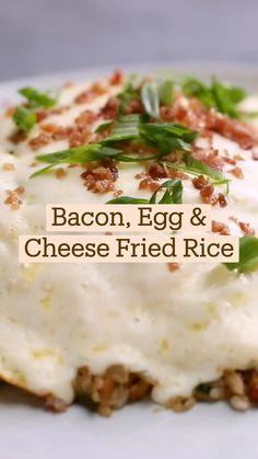 Best Breakfast Recipes, Breakfast Dishes, Good Food, Yummy Food, Tasty, Brunch, Food Hacks, Food Videos, Bacon