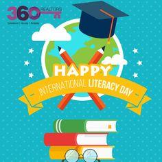 #InternationalLiteracyDay International Literacy Day, Real Estate Services