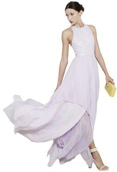 Mai Leather Open Back Dress