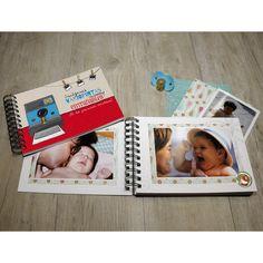En el álbum de fotos que incluye la Baby MyRetrobox (capsula del tiempo para bebés) podréis guardar las fotos más entrañables de los primeros meses de vida del bebé, y que así sean un recuerdo muy  entrañable y emotivo dentro de la cápsula del tiempo Baby MyRetrobox.  #MyRetrobox #recuerdos #fotos #bebe