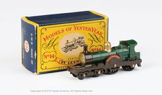 "Matchbox Models of Yesteryear | Vectis Toy Auctions Matchbox Models of Yesteryear No.Y14-1-3 ""Duke of Connaught"" Locomotive"