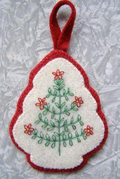 Felt Christmas Tree Ornament   Made for Feltbots: Christmas …   Flickr