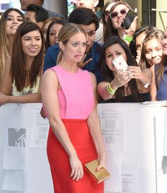 Pin for Later: 20 Celebrities Who Blessed Fans With Fun Selfies at the MTV Movie Awards Brittany Snow