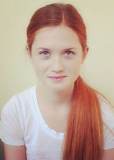 Bonnie Wright: Ginny Weasley; Harry Potter Series.