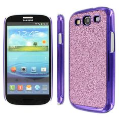 Amazon.com: MPERO Collection Light Purple Sparkling Glitter Slim-Fit Glam Case for Samsung Galaxy S3 / S III: Cell Phones & Accessories