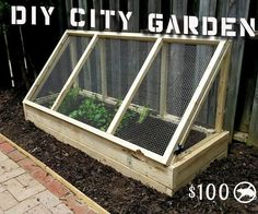 """Creating a garden in the city can be tough, mostly because of the problem with rodents. Here I will walk you through a step by step process of how I built my city proof garden.Garden Size: 72"""" L x 27"""" W x 36"""" HBuild Time: 3 - 6 hoursTools Needed: Power Drill w/Phillips bitCircular Saw (Miter Saw Suggested) T-50 Staple Gun Shovel (Rake also Suggested) Metal SnipsBuy List: (8) - 2 x 2 x 8 - Not Pressure Treated - $14 (Lumber Isle) (4) - 2 x 6 x 8 - Not Pressure Treated- $ 17.72 ..."""
