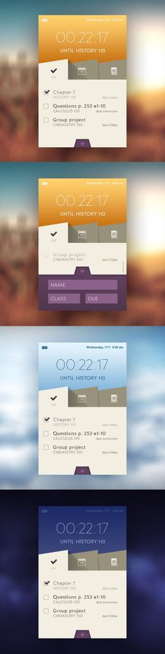 User interface inspiration