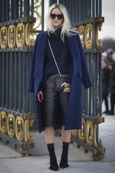 Best Street Style at Paris Fashion Week Fall 2014