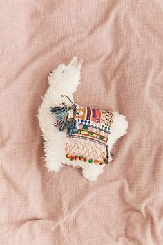 Pelziges Lama-Kissen - Handmade Home Decor - # Alpacas, Cute Pillows, Fluffy Pillows, Throw Pillows, Decor Pillows, Large Pillows, Colorful Pillows, Handmade Home Decor, Diy Home Decor