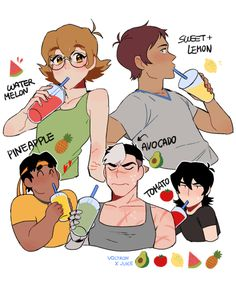 cause Shiro has to be healthy. and then there is Kaith who is foloowing in his rolemodels footsteps