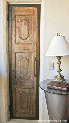 rustic closet doors - Google Search
