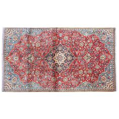 """6'5"""" x 2'6"""",Traditional area rug for sale, Area rug, Vintage wool rug, Red Rug, Persian Rug, Hand Knotted oriental Wool, Code : S0101751"""