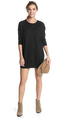 Feinstrick-Oversize-Kleid mit Zippern