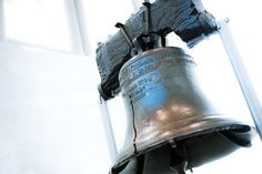 The Liberty Bell is an iconic symbol of American independence, located in Philadelphia, Pennsylvania.