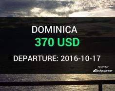 Flight from Seattle to Dominica by Avia    BOOK NOW >>>