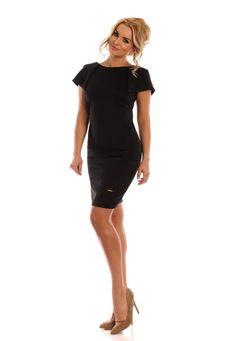 Idealna na każdą okazję :)  #sukienka #mokado #odziez #moda #fashion #trendy #style  https://www.mokado.pl/Sukienka-Model-Amelie-Black-p18863