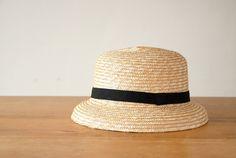 【次回2015年初夏頃入荷予定】CLASKA/クラスカ/麦わら帽子(ブリム)の画像