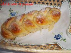 Así se come en Granada.: Trenza de brioche