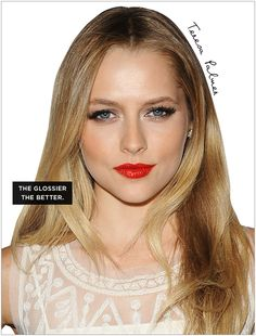 Inspired by: Holiday Beauty Ideas - Celebrity Style and Fashion from WhoWhatWear
