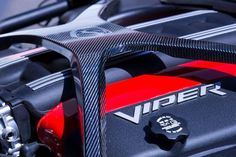 Unveiled today in a press release is the 2016 Dodge Viper ACR. According to the release, this is the fastest street-legal Viper track car ever created. 2016 Dodge Viper, New Sports Cars, Sport Cars, Pontiac Gto, Chevrolet Camaro, American Dream Cars, Viper Acr, Automobile, Motors