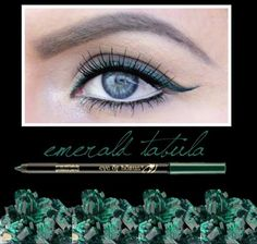 A lovely daytime look with the Eye of Horus Emerald Tabula pencil