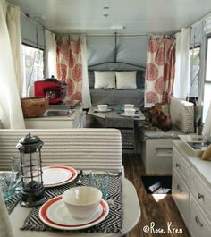 Pop Up Camper Remodel: Rose's Pop Up Makeover