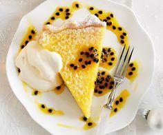 Oven Baked Lemon and Passion Fruit Tart Recipe