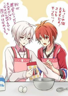 Tenn and Riku funny moments Sleepy Ash, Anime Best Friends, Twin Boys, Manga Games, Rwby, Otaku, Doujinshi, Funny Moments, Kawaii