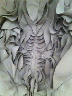 Yiqing Yin Fabulous patternmaking artistry.