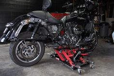 Removing and Installing the Rear Wheel on a Harley Davidson Touring Bike