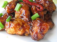 general_tsos_chicken_3  I hope this is good then I can forget the Chinesse Resturants.  The trick to their rice is to use Jasmine Rice not just plain white rice.  It costs a little more but it is well worth it!