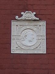 Another Queen Victoria plaque - This one High Street West Redcar. Courtesy of hidden-teesside.co.uk