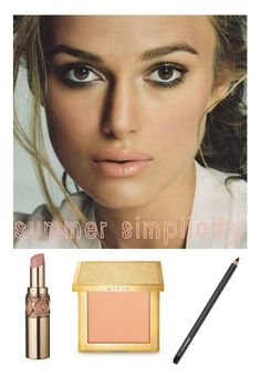 summer makeup, nude lip, smokey eye @Gabriela Wäfler Wäfler Garcia Klaes its my YSL!! <3