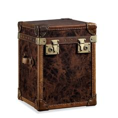 steamer trunk end table from Seven Game Tables