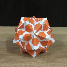 いいね!116件、コメント1件 ― OrigamiMathThailandさん(@narong_pbru)のInstagramアカウント: 「Sonobe variation my designed #origami #origamiart #origamiunit #origamiball #kusudama #kusudamaunit…」