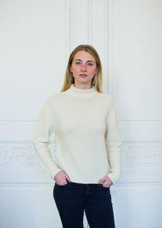 Pull femme en laine de mérinos Made & More, fabriqué en Italie